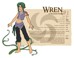 Character Guide - Wren by foxlee