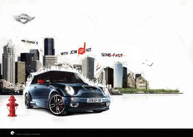 Mini Cooper S JCW GP kit by dr4oz