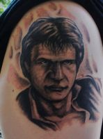 han solo tattoo by tattoos-by-zip