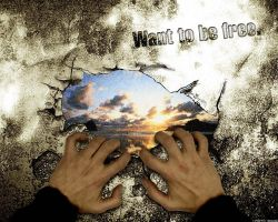 want to be free by Xa0tiK