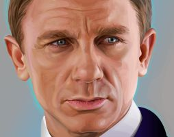 Bond, Daniel Craig by Swezzels