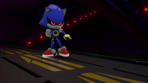 Metal Sonic by PvTHinge