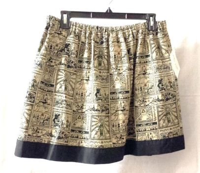 Wind Waker fabric made into a skirt by AllisonEast