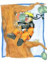 naruto n durian by huzza-tbg