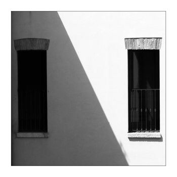 Two windows - two areas by Philla