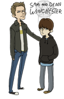 SPN: You Messed With the Wrong Kids by sparkyHERO
