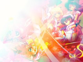 Sailor Moon Super with Inners by Lio-Sun