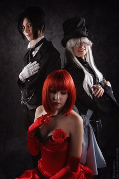the Butler,Death and the Dead by Odango-datte