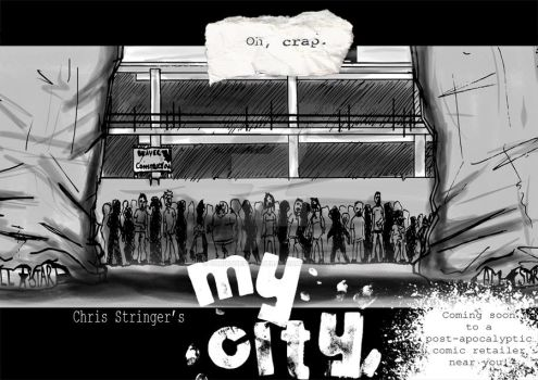 My City poster 3 by christhestringer