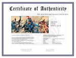 Certificate of Authenticity by sinccolor