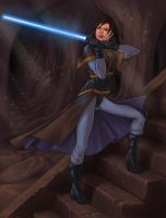 Jedi catacombs by NadrojWobrek