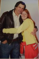 Me with Dirk Benedict :D by wales48