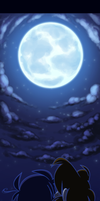 La lune by cloudbabykc