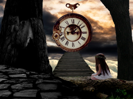 Watching The Time Past by Despond