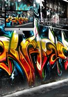 Graffiti Wallpaper by Aurrum