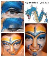 Pokemakeup 130 Gyarados by nazzara