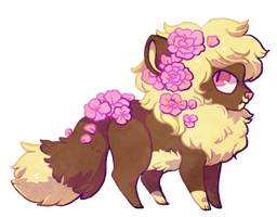 that's a cute lio- (DUMPS FLOWERS ON) by Sergle
