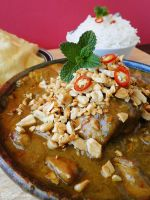 Chicken Peanut Curry by cakecrumbs