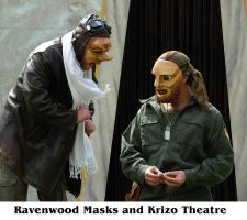Masks in Performance by Alyssa-Ravenwood