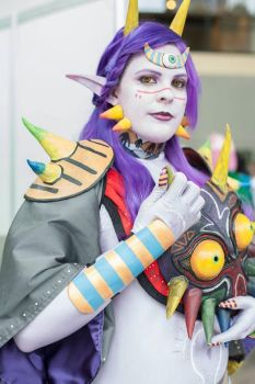 Majora costume close up by Chochomaru
