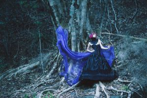 Blue Witch's Debut by MoofyModel