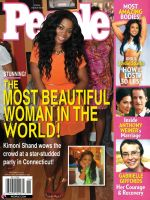 Faux PEOPLE magazine cover by RedShoulder