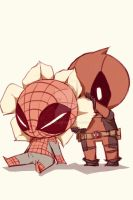 Spideypool89 by LKiKAi