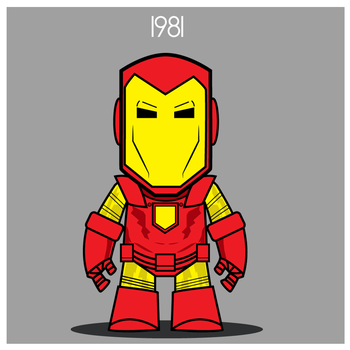 Iron Man  - Space Armor 1981 by Yeti-Labs