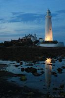 St. Mary's Lighthouse by Little-Miss-Splendid