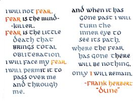 Litany Against Fear by MShades