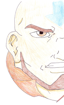 Avatar: The Last Airbender - Aang by blossombritt