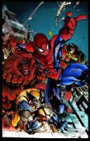 Avenging Spiderman by richyunspoken