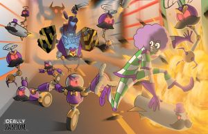 And Then There Was a Wacky Chase Scene by ideallyRANDOM