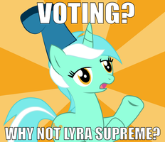 Why Not Lyra Supreme? by dream-quill