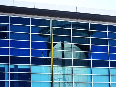 Photography - control tower in glass by EnemyoftheSteak