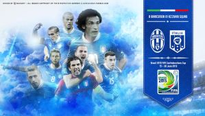 Ital-Juve Confederations Cup 2013 wallpaper by Nucleo1991