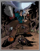 Skulljammers Evil Dead Colored by ShadowMaginis