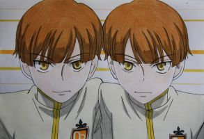 Hitachiin Twins by Karina-o-e