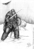 Jon Snow - Character Drawings 029 by FREEdige