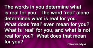 CM Power of Word - What is REAL for you by AmyinWonderlandofOz