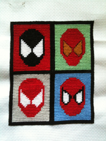 Spider-man suits by WhispMI21