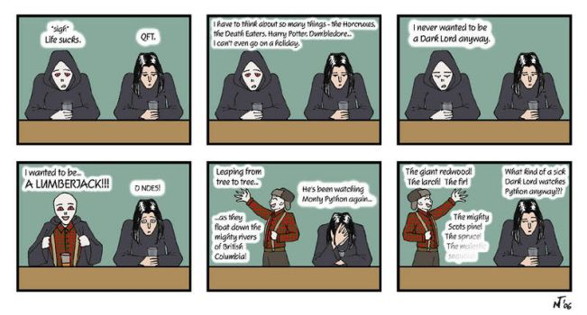 Harry Potter Comic 2 by Mar17swgirl