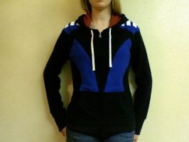 Garrus Loyalty Armor Hoodie by Emilijoy
