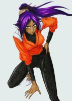Yoruichi by Shiromishi