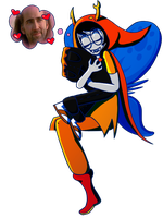 Collab Vriska by DDRshaman38