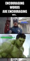 Smashing Things is Too Mainstream - AVENGERS MEME by ForeverZeroDragon