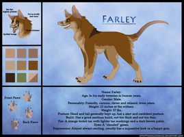 Farley Ref Sheet by TheWolvenAngel