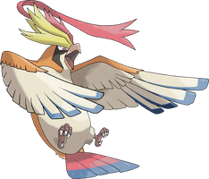 Mega Pidgeot by TheAngryAron