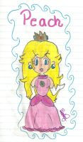Princess Peach by 1278JUSTME