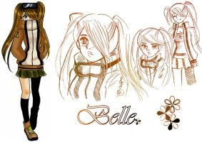 hero:xxxx belle by NeonGenesisEVARei